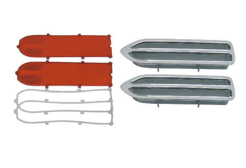 133-70RRBLKIT Mopar 1970 Plymouth Roadrunner Taillight Kit - Mopar Plus Restoration Parts