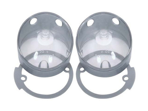 154-R Mopar 1970 Plymouth Roadrunner and GTX Back-up Light Lenses - Mopar Plus Restoration Parts