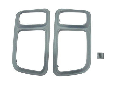 216P-71 Mopar 1971 Plymouth Cuda Painted Taillight Bezels - Mopar Plus Restoration Parts