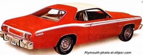 "Mopar ""Canopy"" Vinyl Tops 1973-1976 Duster,1973-1976 Dart Sport - Mopar Plus Restoration Parts"