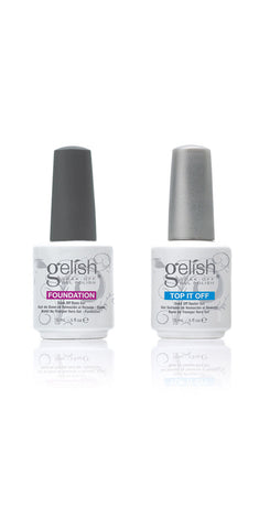 Harmony Gelish Foundation + Top It Off Combo