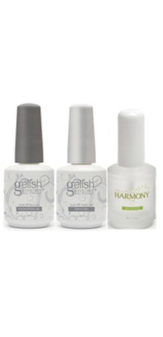 Harmony Gelish Foundation + Top It Off + PH Bond Combo