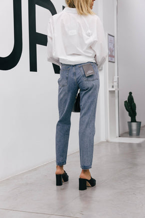 WH PEARL DISTRESSED BLUE Jeans KURE