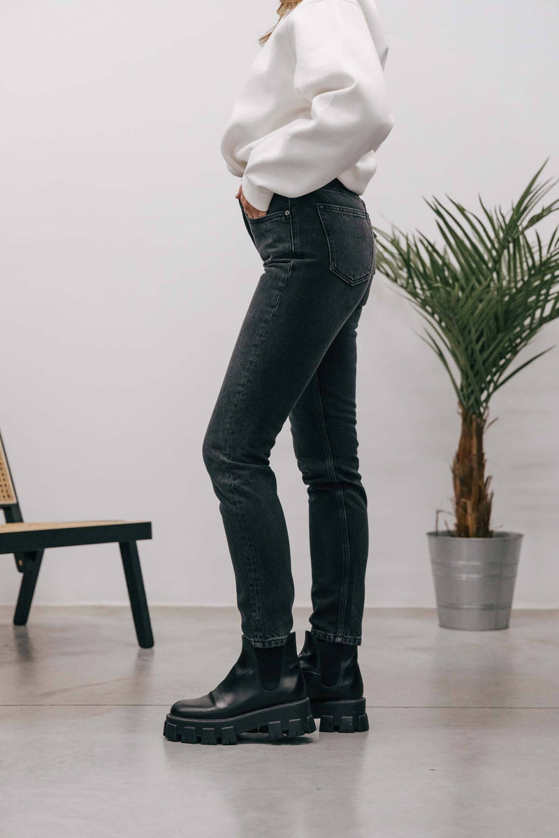 BOYISH-101107-BILLY HIGH RISE SKINNY-SPACE ODYSSEY Jeans KURE