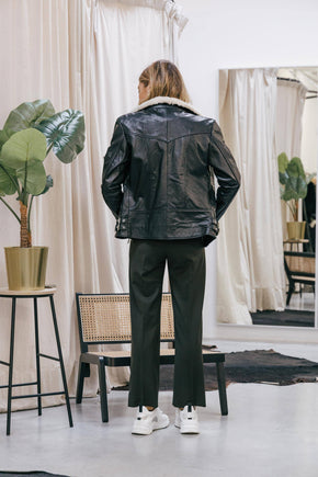 HEPBURN RECYCLED LEATHER JACKET Jacket KURE
