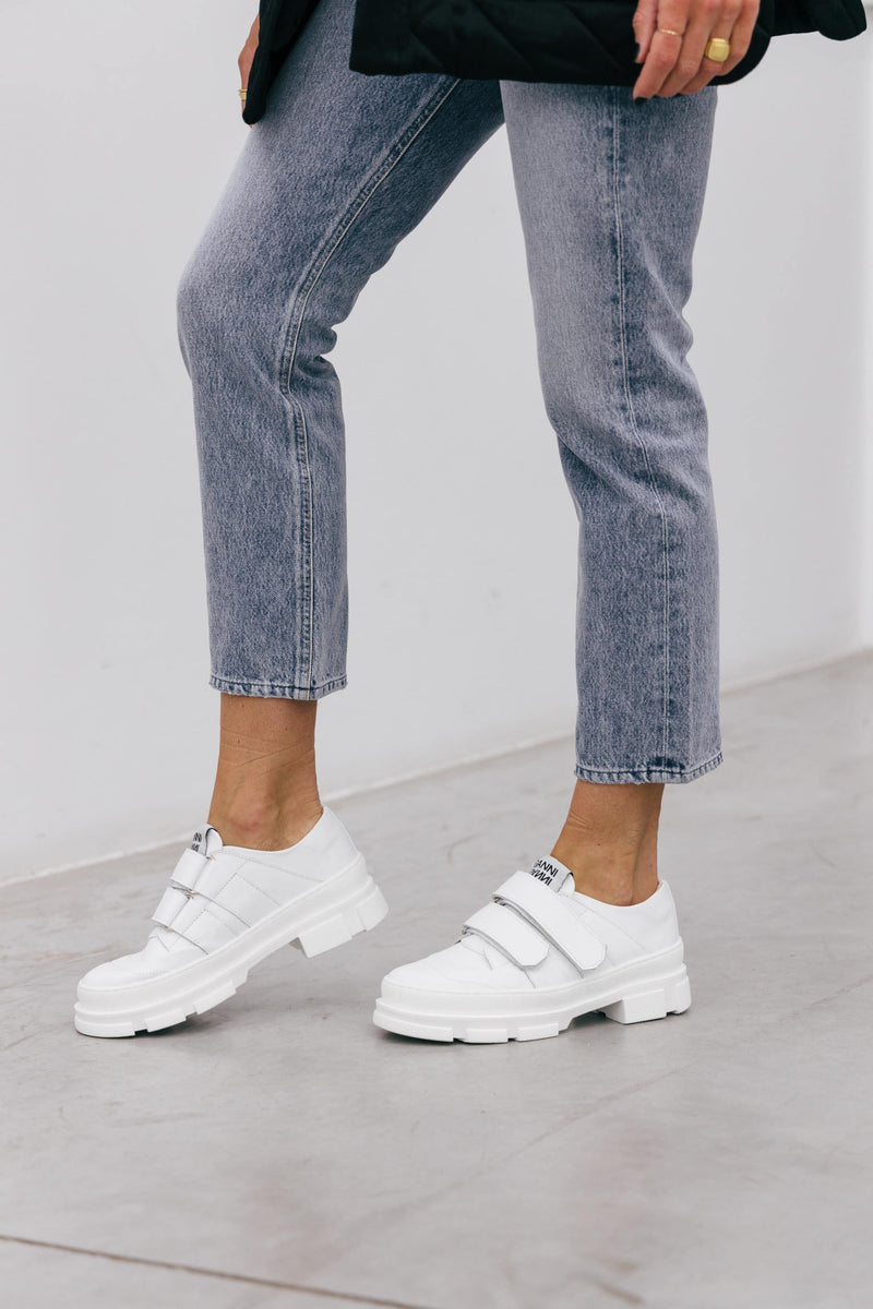 GANNI HYBRID VELCRO SNEAKERS Shoes GANNI