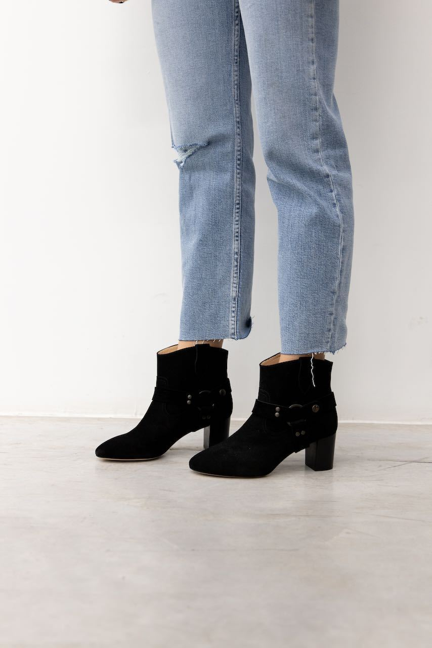 CHARLAINE SUEDE BOOTS