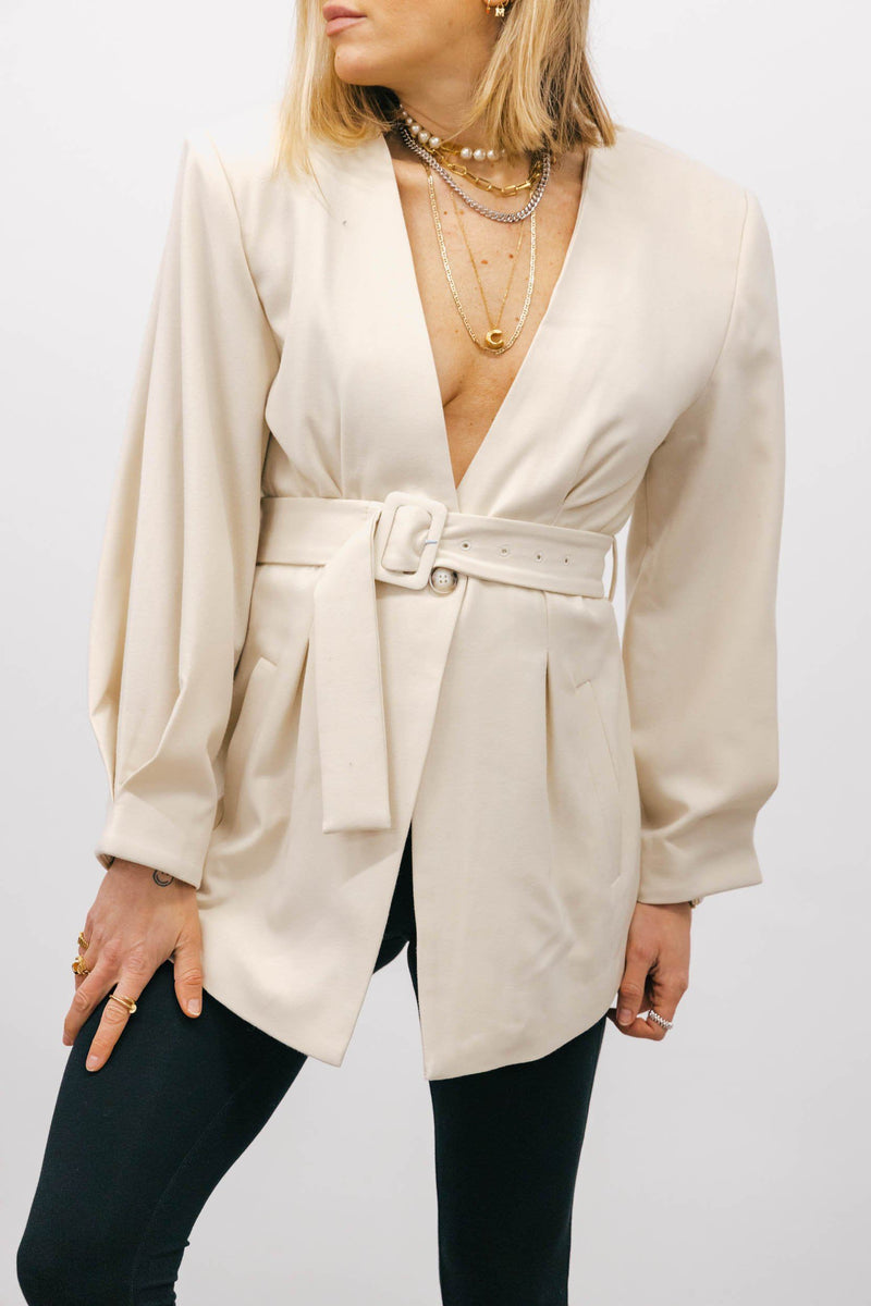 KLARA BLAZER IN OFF WHITE Blazer KURE