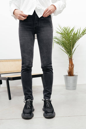 THE BILLY : HIGH RISE SKINNY IN SPACE ODYSSEY Jeans KURE