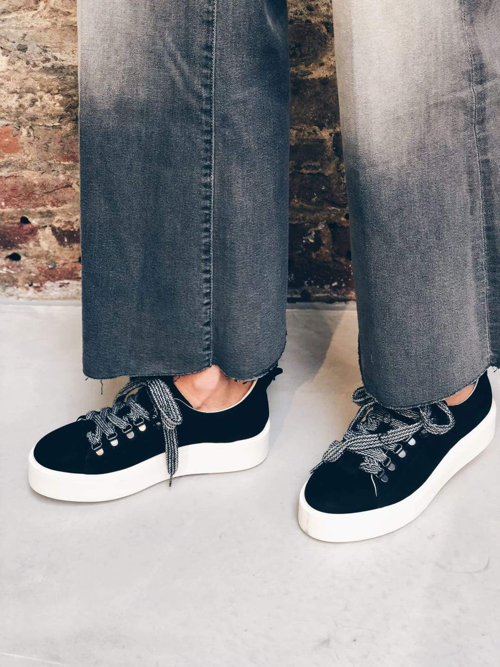 Black Plateform Sneakers