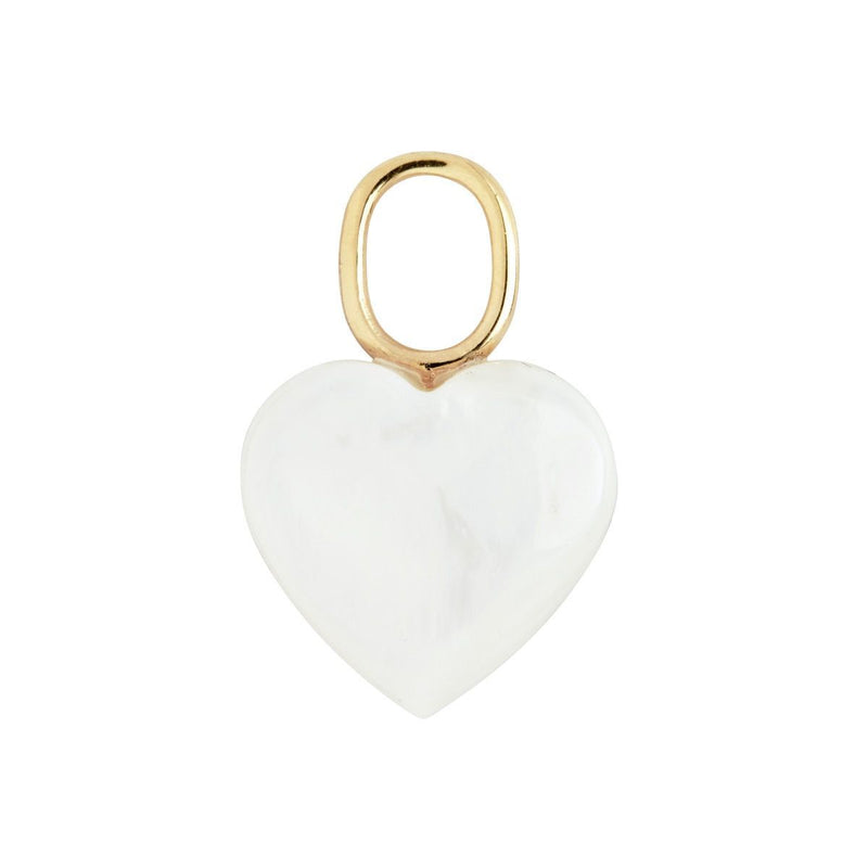 MOTHER HEART CHARM GOLD jewelry KURE