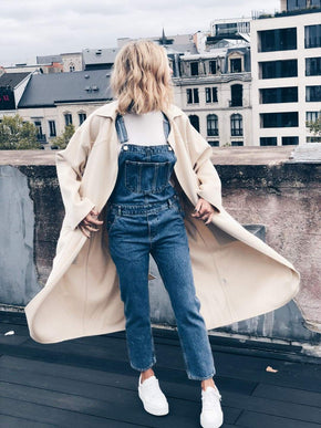 Overall Blue Denim Dungaree