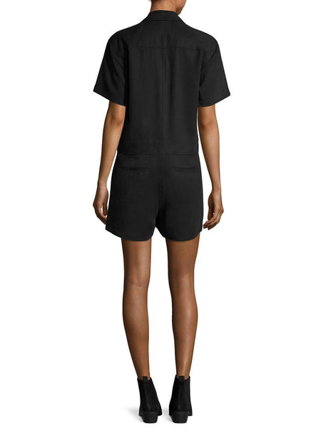 Gwyneth Short Sleeve Romper