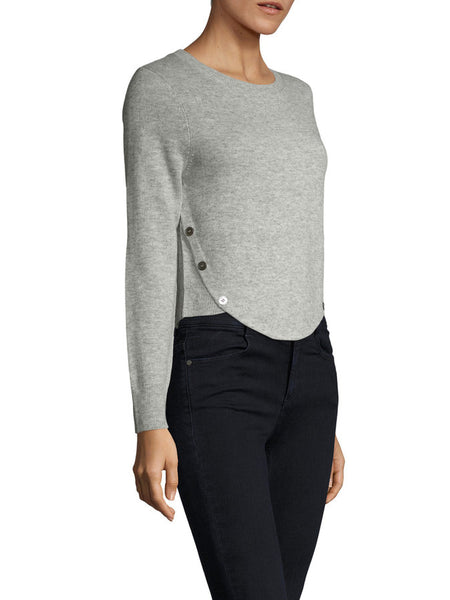 Aileen Sweater Top Grey