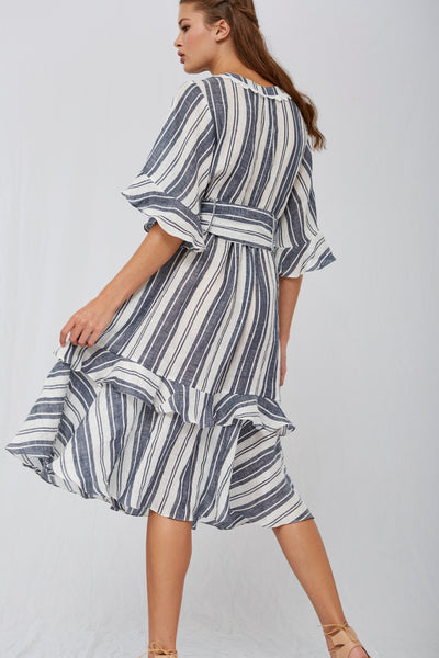 Tisha Midi Stripe Dress SOLD OUT