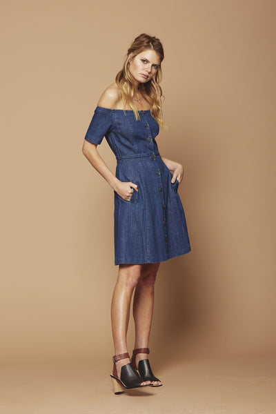 Clarisse Denim Dress SOLD OUT