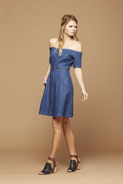 Clarisse Denim Dress