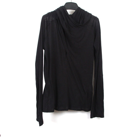 MA JULIUS 13AW CASHMERE BLEND LIGHT WEIGHT HOODIE