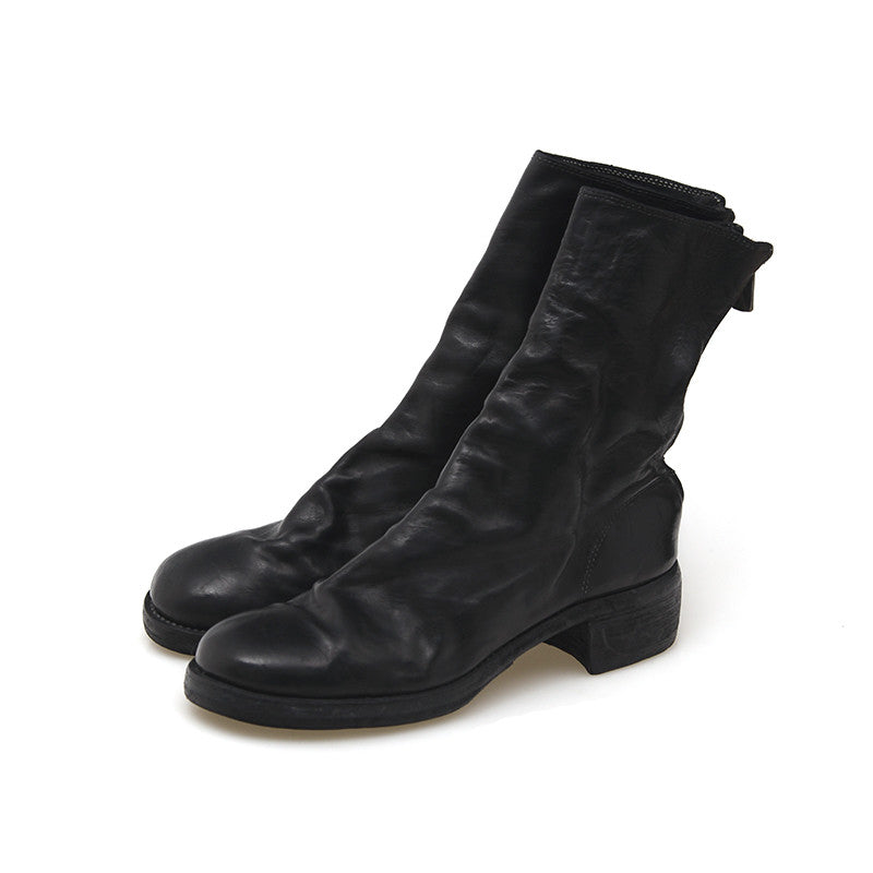 GUIDI 788Z HORSE LEATHER BACK ZIP BOOT