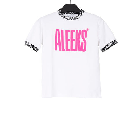 1017 ALYX 9SM AW17 WHITE COTTON ALEEKS SPORT T-SHIRT