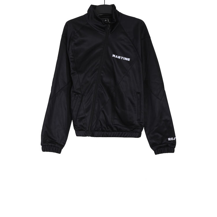 MARTINE ROSE AW18 BLACK TWIST TRACK JACKET