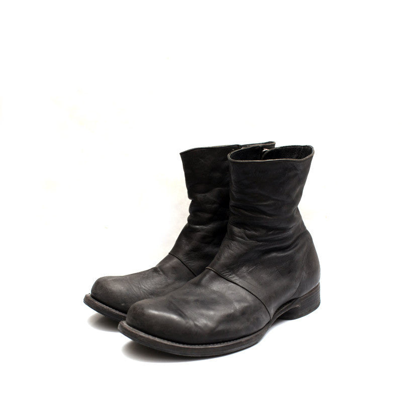 DEVOA FW-BH2 SS12 HORSE LEATHER SIDE ZIP BOOT