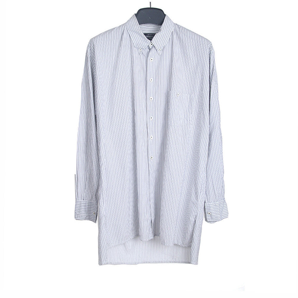 GEOFFREY B SMALL STRIPE DRESS SHIRT