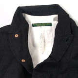 PAUL HARNDEN WOOL LINEN BLAZER JACKET