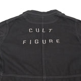 "UNDERCOVER BY JUN TAKAHASHI 12SS ""CULT FIGURE"" BACK EMBROIDERED LONG WORK JACKET"