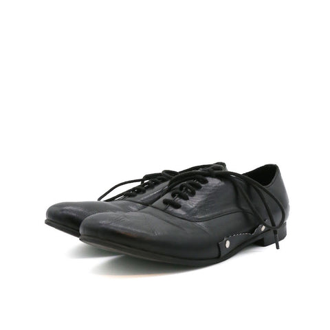 COMME DES GARCONS LACE-UP LEATHER SHOES