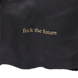 "UNDERCOVER 15AW ""FUCK THE PAST FUCK THE FUTURE"" SLOGAN LEATHER GLOVES"