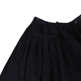 MISOMBER NUAN 13AW RAW EDGE OVERSIZE WIDE LEG CROPPED PANTS