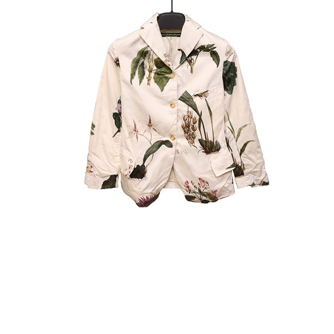 PAUL HARNDEN SHOEMAKERS 15SS 'FLOWER' PRINT  COTTON BLAZER