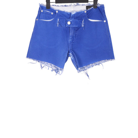 1017 ALYX 9SM SS18 BLUE COTTON DENIM SHORTS