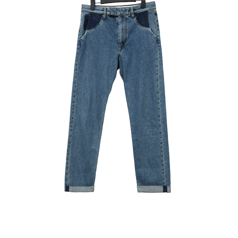 MAISON MARTIN MARGIELA AW12 RECONSTRUCTED REMAKE DENIM JEANS