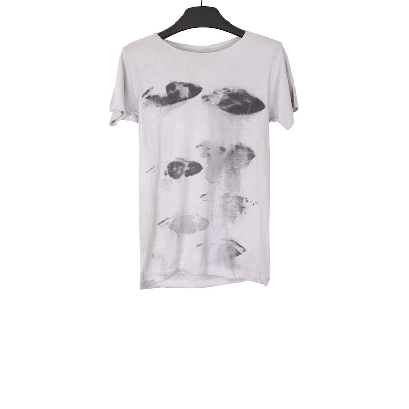 A147G AMY GLENN COTTON T-SHIRT WITH EYE PRINT