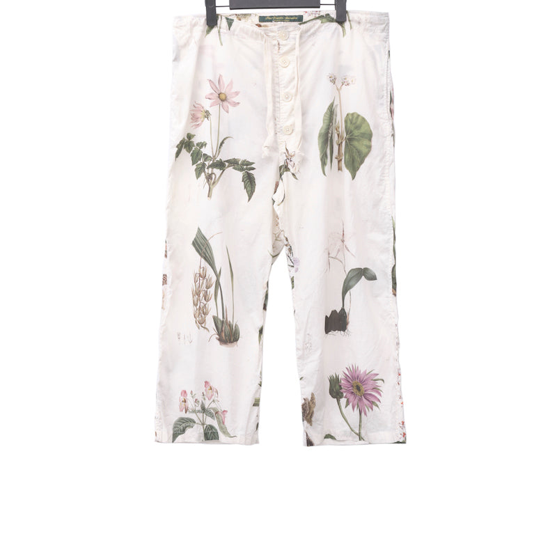 PAUL HARNDEN SHOEMAKERS COTTON FLORAL PRINTED WOMENS PYJAMA PANT
