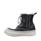 DIET BUTCHER SLIM SKIN DBSS LEATHER HIGH TOP SNEAKER BOOT
