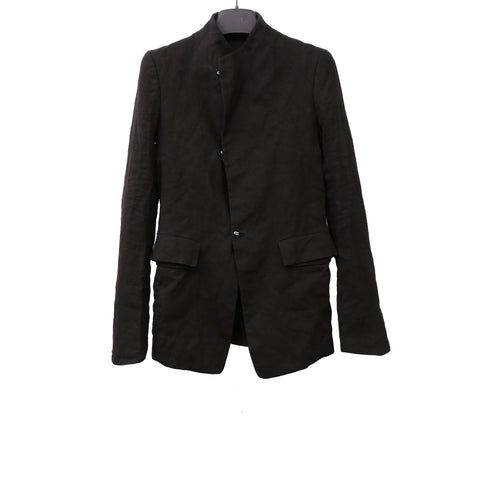 Y/PROJECT PARASOMNIA SS13 BLACK PAPER BLAZER CROSS OVER