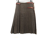 PAUL HARNDEN AW09 HERRINGBONE WOOL TWEED KILT