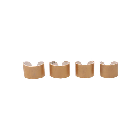 MAISON MARTIN MARGIELA ADJUSBALE BRASS FOUR RING SET
