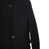 COMME DES GARCONS HOMME PLUS POLYESTER ONE BUTTON CLOSURE JACKET