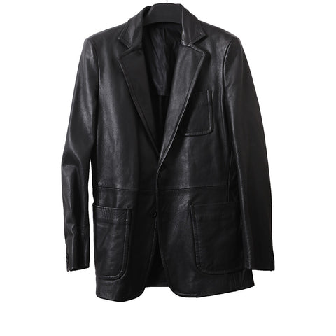 MARTIN MAISON MARGIELA 10 MENSWEAR MULTI POCKET LEATHER JACKET