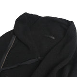 THE VIRIDI-ANNE ASYMMETRIC ZIPPER WOOL KNIT JACKET
