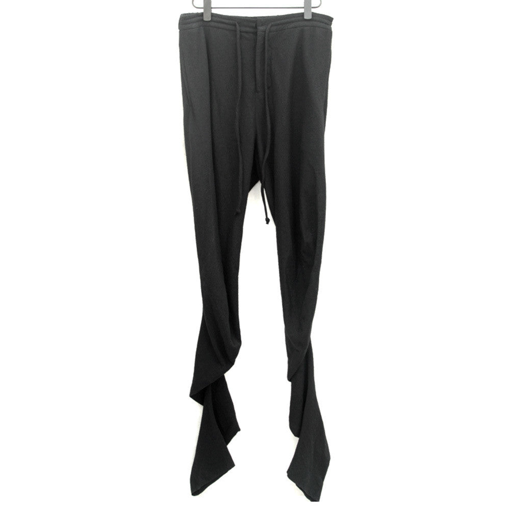 LUMEN ET UMBRA WOOL TWISTED LEG DRAWSTRING PANT