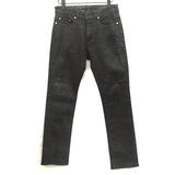 NEIL BARRETT COATED SLIM LEG DENIM JEAN
