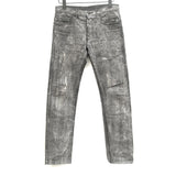 DIOR HOMME PRINTED SLIM DENIM JEAN