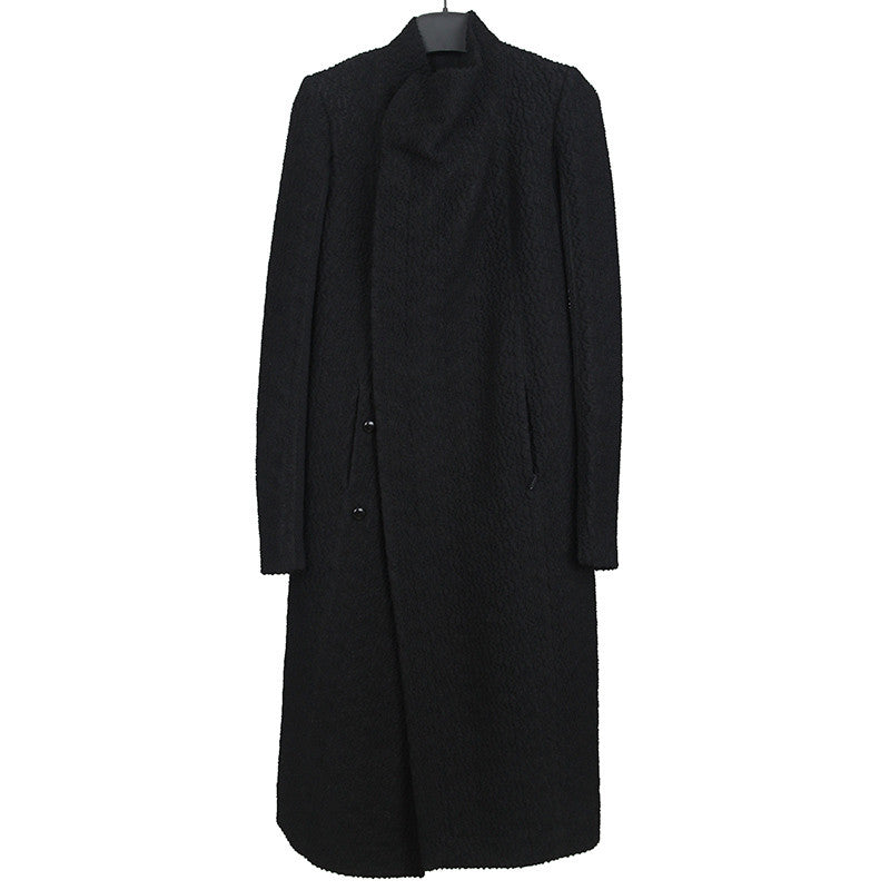 RICK OWENS AW14 CAPPOTTO EILEEN WOOL COAT