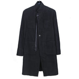 ANN DEMEULEMEESTER 13AW FOUR POCKET FULL- LENGTH JACKET