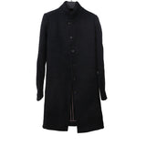 DEVOA HIGH NECK WOOL BLEND LONG COAT